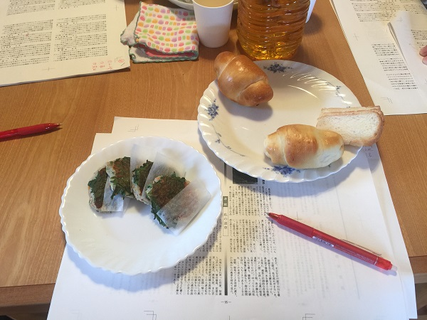 2017-03-19 パンとお焼き
