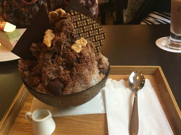 17.05.25 チョコレートかき氷(2)